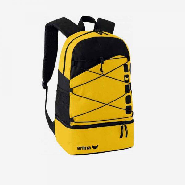 Afbeelding Erima Club 5 rugzak sporttas geel