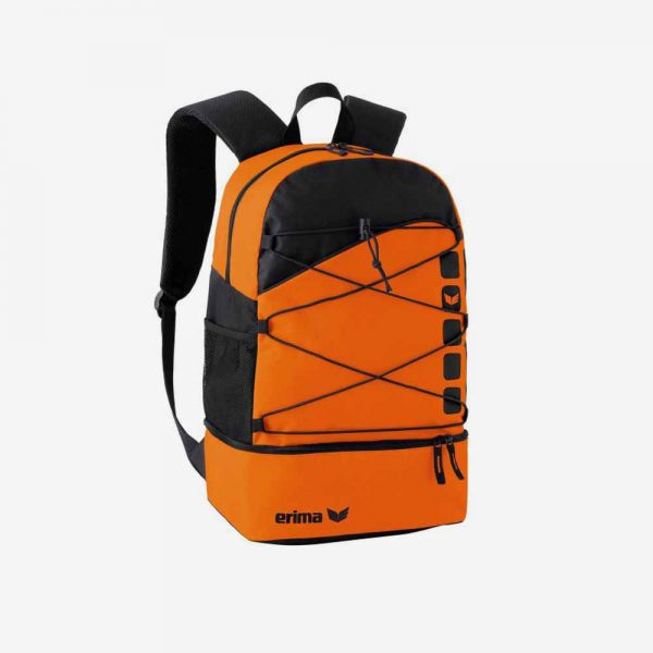 Afbeelding Erima Club 5 rugzak sporttas oranje