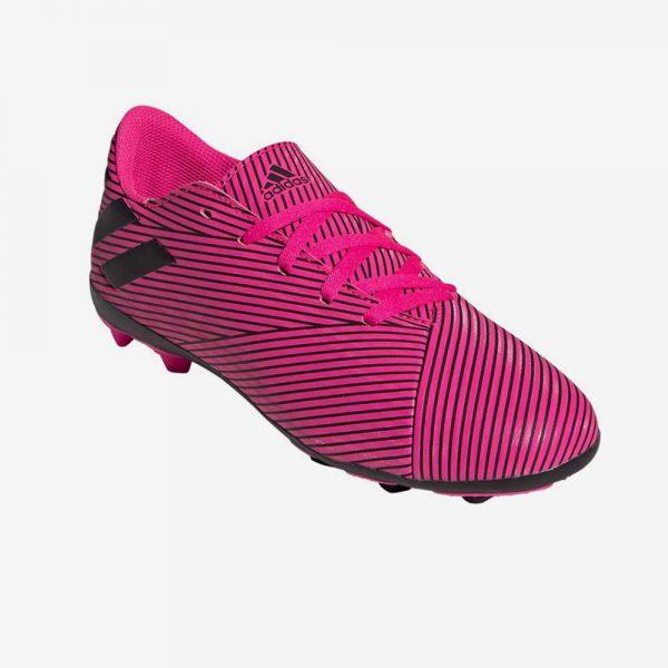 Afbeelding Adidas Nemeziz 19.5 FxG junior voetbalschoenen bovenkant