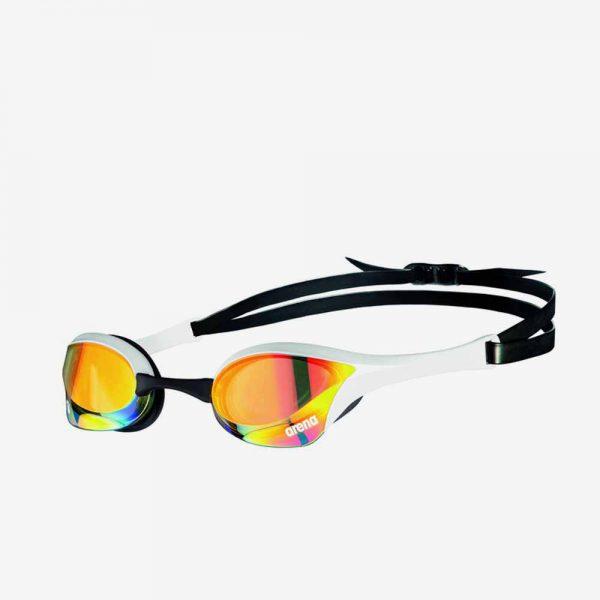Afbeelding Arena Cobra Ultra zwembril wit-zwart