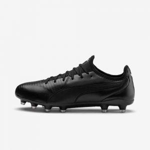 Afbeelding Puma KIng Pro voetbalschoenen zwart linkerschoen
