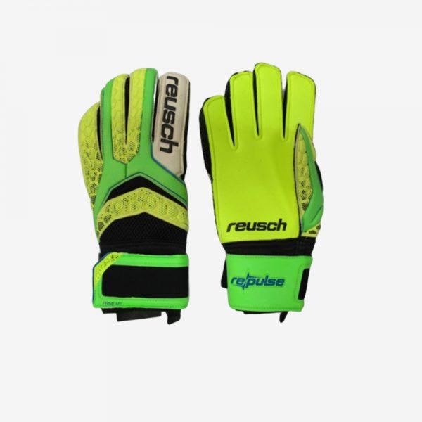 Afbeelding RE Pulse SG Extra keepershandschoenen groen geel