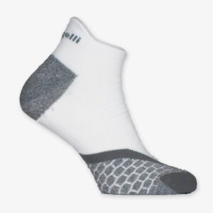 Afbeelding Rogelli running socks hardloopsok rrs05 wit grijs