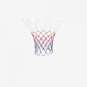 Afbeelding Rucanor basketbalnet 12 ophanghaken rood blauw wit