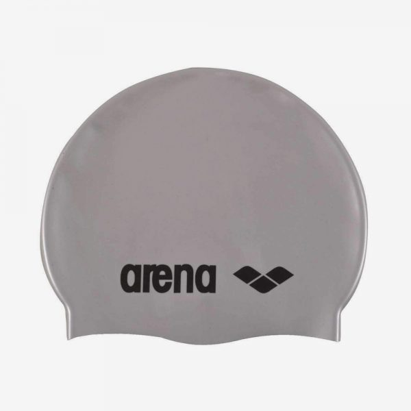 Afbeelding Arena Classic Silicone badmuts zilver