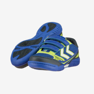 Afbeelding Hummel Root Velcro Jr Surf the Web handbalschoen blauw