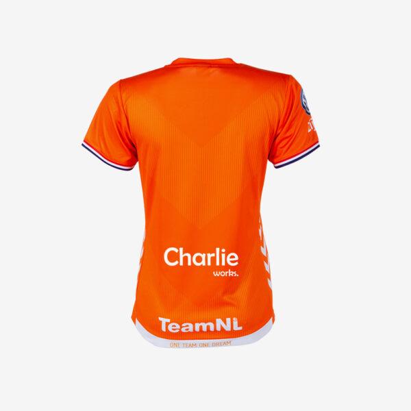 Afbeelding Hummel WK 2019 shirt Nederlandse handbaldames korte mouw oranje