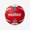 Afbeelding Molten Wk official wk 2019 dames wedstrijdbal rood wit