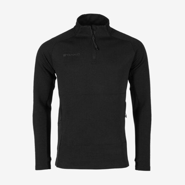Afbeelding Stanno Functionals 1/4 zip top sweater zwart