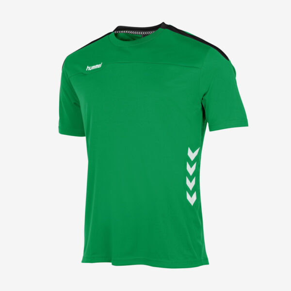 Afbeelding Hummel Valencia sportshirt uni groen