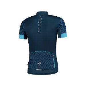 Rogelli Bolt wielershirt blauw achterkant