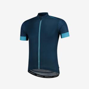 Rogelli Bolt wielershirt blauw voorkant