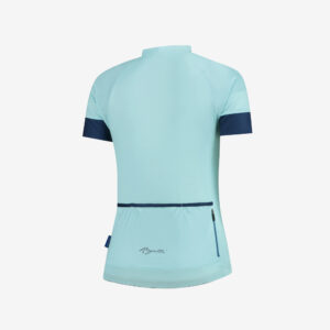 Afbeelding Rogelli Modesta wielershirt turquoise