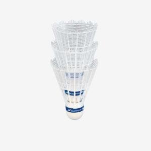 Afbeelding Rucanor badminton shuttles plastic 3 stuks wit s