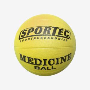 Afbeelding Sportec Medicijnbal geel