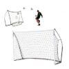 Afbeelding voetbaldoel en rebounder