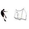 Afbeelding voetbaldoel als rebounder