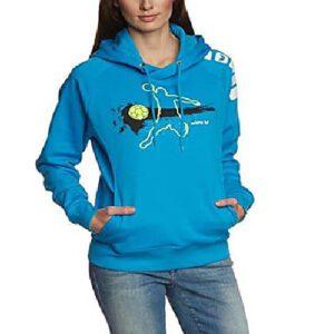 Afbeelding Erima Hooded sweater player 2.0 blauw