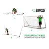 Afbeelding voetbaldoel kickster quickplay opzetinstructie