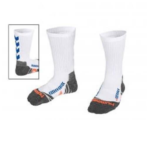 Afbeelding Hummel chevron sock sokken witblauw