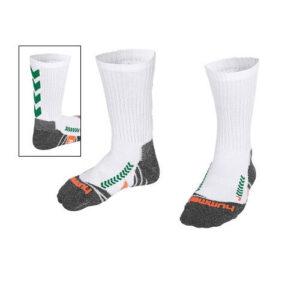Afbeelding Hummel chevron sock sokken witgroen