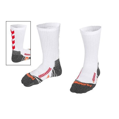 Afbeelding Hummel chevron sock sokken witrood