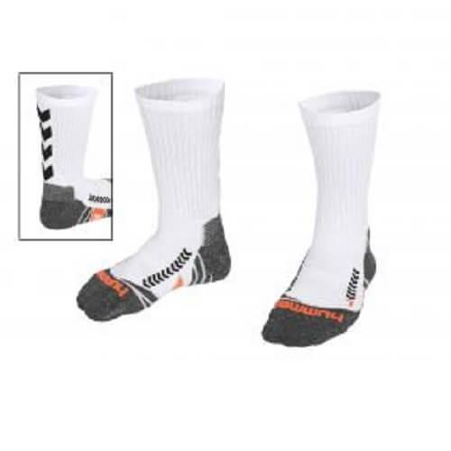 Afbeelding Hummel chevron sock sokken witzwart