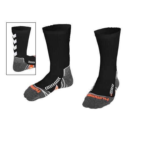 Afbeelding Hummel chevron sock sokken zwartwit