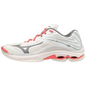 Afbeelding Mizuno Wave Lightning Z6 indoorschoenen dames wit roze