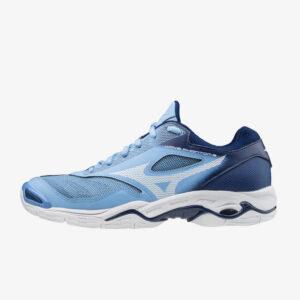 Afbeelding Mizuno Wave Phantom 2 dames handbalschoenen lichtblauw