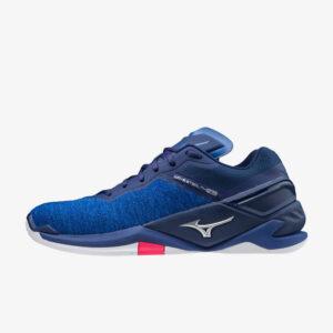 Afbeelding Mizuno Wave Stealth Neo unisex handbalschoenen blauw