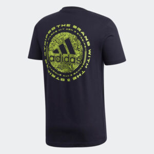 Afbeelding Adidas Doodle embleem t-shirt donkerblauw
