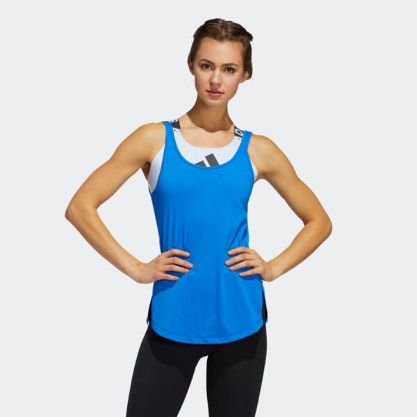 Afbeelding Adidas go to tanktop dames blauw