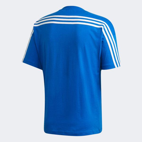 Afbeelding Adidas Must HAves 3 strepen t-shirt heren blauw