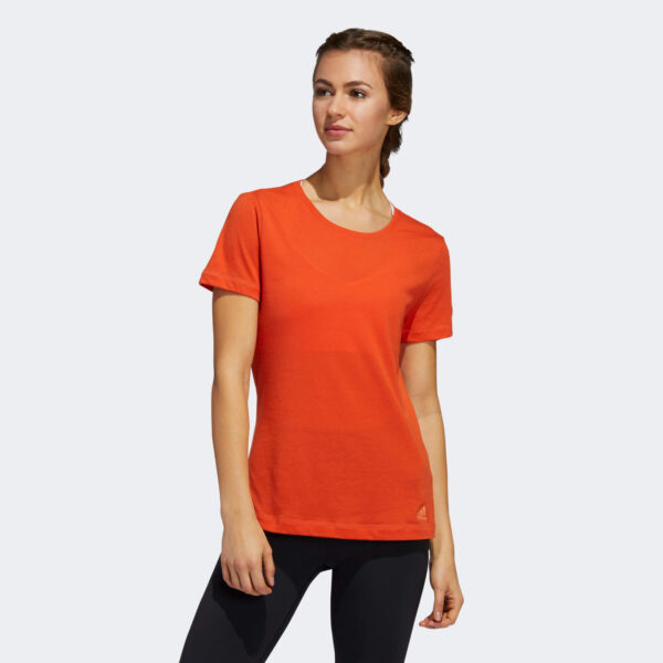 Afbeelding Adidas Prime T-shirt sportshirt dames glory amber