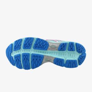 Afbeelding Asics Cumulus 18 hardloopschoenen dames aquablauw