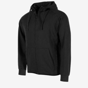 Afbeelding Stanno Ease Fullz zip hoodie uni zwart