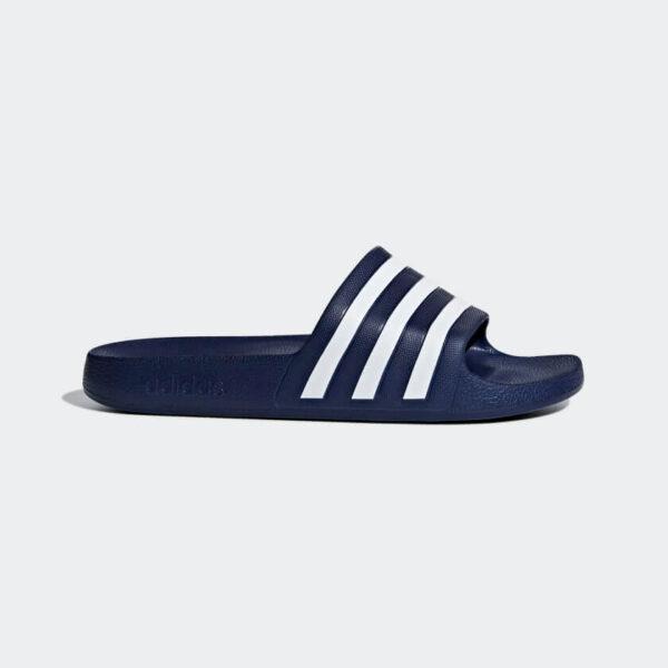 Afbeelding Adidas adilette aqua badslippers blauw/wit