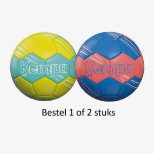 Afbeelding Kempa Leo handballen geel/turquoise blauw/rood