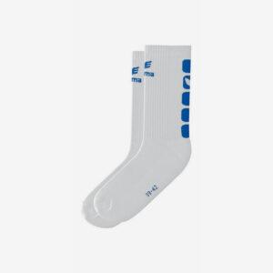 Afbeelding Erima handbal sokken wit/blauw