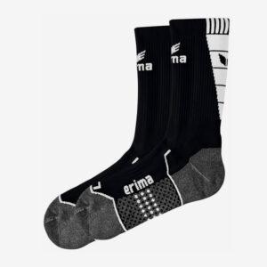 Afbeelding Erima trainingssokken korte sokken zwart/wit