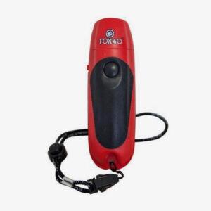 Afbeelding Fox40 elektrische scheidsrechter fluitje rood