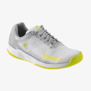Afbeelding Kempa Wing 2.0 dames handbalschoenen wit/geel