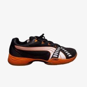 Afbeelding Puma Vibrant VI MU uni indoorschoen zwart/oranje