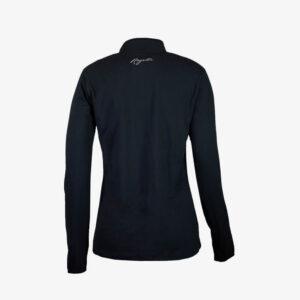 Afbeelding Rogelli Carina 2.0 hardloopshirt zwart achterkant