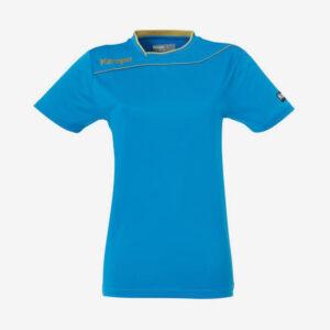 Afbeelding Kempa Gold shirt dames sportshirt blauw goud