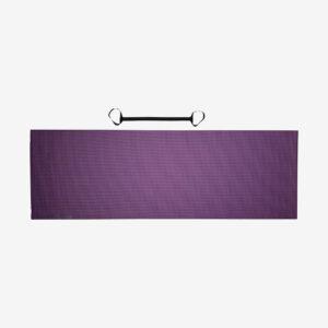 Afbeelding Tunturi Fitnessmat Yogamat met draagkoord paars