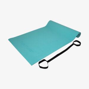 Afbeelding Tunturi Fitnessmat Yogamat met draagkoord turquoise