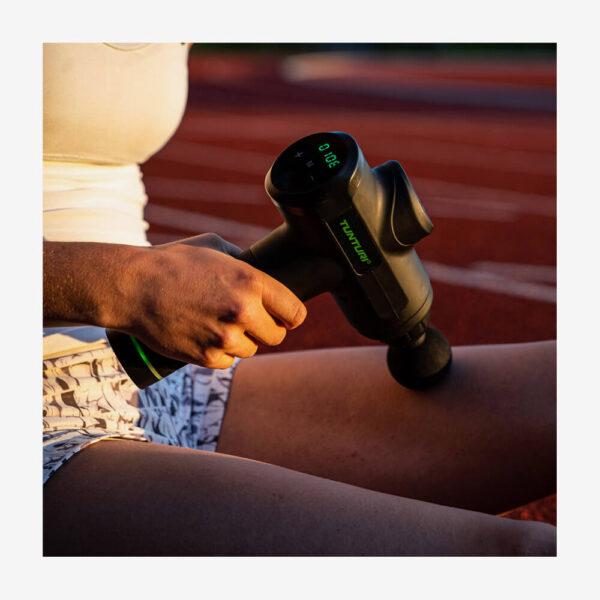 Afbeelding Tunturi massage gun zwart