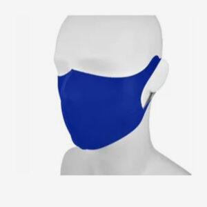 Araco gezichtsmasker scuba mondkapje kobaltblauw